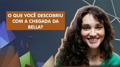 Débora Nascimento conta como é voltar ao trabalho após ser mãe - A atriz é mãe de Bella, de 7 meses, fruto de seu relacionamento com o ator José Loretto