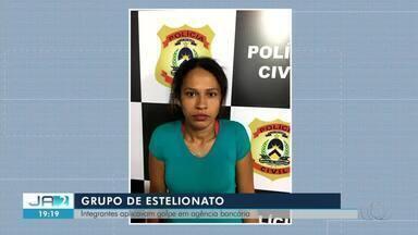 Grupo é preso suspeito de aplicar golpes em agência bancária de Tocantinópolis - Grupo é preso suspeito de aplicar golpes em agência bancária de Tocantinópolis