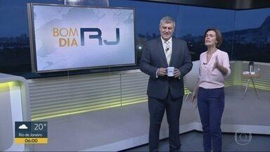Bom Dia RJ - Edição de quarta-feira, 21/11/2018 - As primeiras notícias do Rio de Janeiro, apresentadas por Flávio Fachel, com prestação de serviço, boletins de trânsito e previsão do tempo.