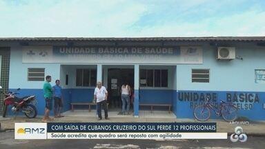 Médicos cubanos deixam de atender no Acre - Estado perde 12 profissionais.