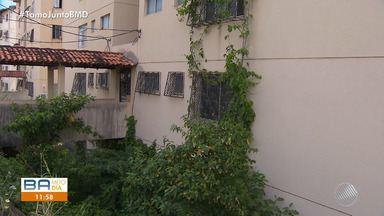 Prédio com rachaduras se torna cemitério de imóveis abandonados - A construtora do prédio decretou falência; compradores entraram com uma ação na justiça.
