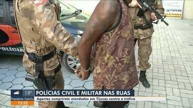 Polícias Civil e Militar cumprem mandados de prisão em Tijucas - Polícias Civil e Militar cumprem mandados de prisão em Tijucas
