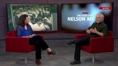 Nelson Motta e Cristina Aragão falam sobre o programa 'Em Casa com Nelson Motta'