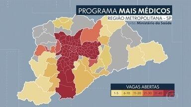 """Região Metropolitana perde mais de 400 médicos com saída de cubanos - Em pelo menos 19 cidades da região metropolitana, os médicos do programa """"Mais Médicos"""" deixaram seus postos nesta quarta (21)."""