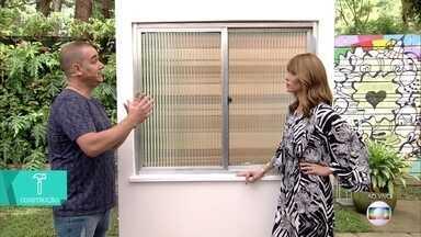 Aprenda a trocar a borracha de vedação de esquadria de alumínio - Manutenção evita acidentes em janelas de esquadria