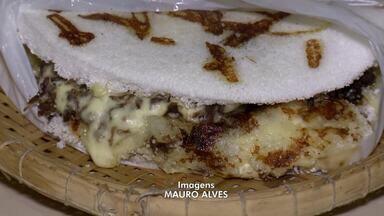Aprenda a preparar tapioca com recheio de banana - Aprenda a preparar tapioca com recheio de banana