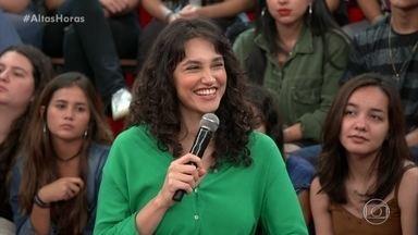 Débora Nascimento diz que sua primeira cena foi com Fábio Assunção - Confira!