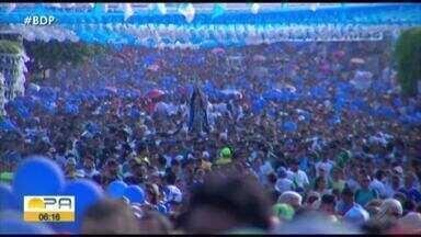 Em Santarém, milhares de pessoas foram as ruas para homenagear Nossa Senhora da Conceição - A santa é a padroeira do município.