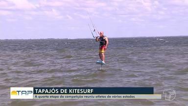 Etapa Tapajós de kitsurf reúne atletas de várias regiões do país em Santarém - A quarta edição do evento esportivo ocorreu no fim de semana.