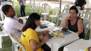Caravana Seja digital visita o bairro Vila Isa, em Valadares - Cerca de 17 mil famílias tem direito ao kit.