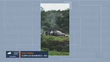 Avião cai e quatro pessoas morrem em Jequitaí, na Região Norte de Minas Gerais - Adolfo Geo e a mulher dele, Margarida Gianetti Geo, são dois dos mortos, além do piloto e do copiloto.