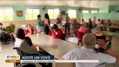 Campanha de Natal em Linhares promove adoção de avós em Lar de Idosos - Quem adotar pode realizar o pedido dos idosos.