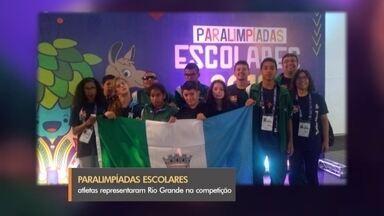 Paratletas representam Rio Grande em Paralimpíadas escolares - Dezoito medalhas foram conquistadas pelos atletas da cidade em competição realizada em São Paulo.