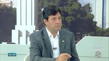 TV Morena entrevista futuro Ministro da Saúde, Luiz Henrique Mandetta - Ele falou sobre o programa Mais Médicos, o projeto que prevê uma avaliação para novos médicos e também sobre os reajustes reivindicados pelas Santas Casas de todo o país.