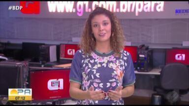 Veja os destaques do G1 Pará com a jornalista Gabriela Azevedo - Saiba o que é notícia no g1.com.br/para