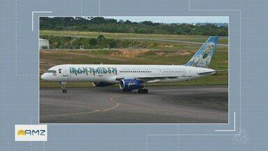 Evento reúne fãs de aviões em aeroporto de Manaus - Amantes de fotografia registram movimentos de pouso e decolagem de aviões.