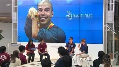 De olho nas Olimpíadas, Daniel Dias comparece em evento no Japão - De olho nas Olimpíadas, Daniel Dias comparece em evento no Japão