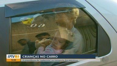 Especialista explica cuidados necessários ao transportar crianças no carro - Especialista explica cuidados necessários ao transportar crianças no carro