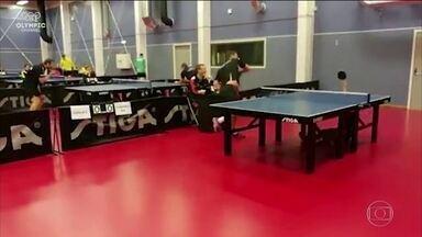 Jogada incrível no tênis de mesa viraliza na internet - Jogada incrível no tênis de mesa viraliza na internet