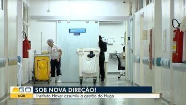 Organização Social Haver assume diretoria do Hugo, em Goiânia - Segundo administração, cirurgias eletivas já voltaram a ser feitas.