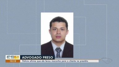Advogado é flagrado com drogas em presídio de Viana, diz polícia - Ele estaria atendendo um presidiário quando foi encontrada uma sacola contendo 40 buchas de substâncias similar a maconha.