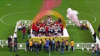São Paulo conquista título da Supercopa do Brasil Sub-20 2018 - São Paulo conquista título da Supercopa do Brasil Sub-20 2018