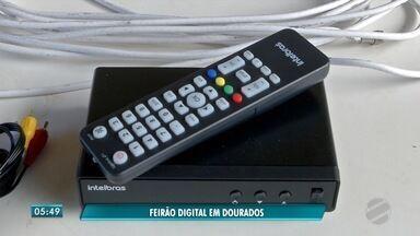 Neste sábado tem último feirão digital em Dourados - Sinal analógico será desligado no dia 5 de dezembro.