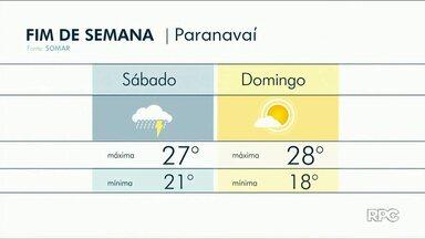 Sábado deve ter chuvas isoladas na região Noroeste - No domingo, 2 de dezembro, no entanto, o sol brilha forte em toda a região.