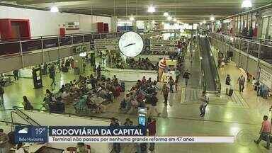 Codemge abriu licitação para reformar a Rodoviária de Belo Horizonte - Para melhorar a estrutura da Rodoviária de Belo Horizonte, a Companhia de Desenvolvimento de Minas Gerais, abriu licitação para a execução de uma grande reforma, que não é realizada no Terminal há 47 anos.