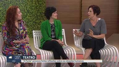 Atriz Maria Flor apresenta espetáculo em Belo Horizonte - Peça é no CCBB