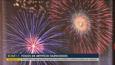 Em Londrina, fogos de artifício que fazem barulho estão proibidos - Os infratores podem ser multados.