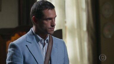 Aranha chama Machado para a reunião - Rita de Cássia fica contrariada pela noite anterior