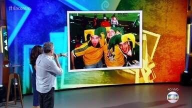#TBT do Encontro com Dan Stulbach - Ator relembra foto de 1998, fala de amizade e Copa do Mundo