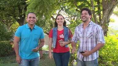 Menilson, Jamile e Brucce interagem com o público - Telespectadores comentam sobre as atrações do Combinado