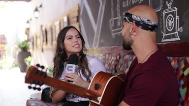 Cantor Jão Luiz fala sobre nova fase da carreira - Jamile Pavlova bate um papo com o sergipano que já é sucesso na internet