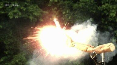 Fogos de artifício podem causar acidentes graves - Aprenda a identificar quais fogos de artifício estão danificados