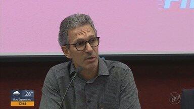 Governador eleito Romeu Zema explica que estado deve aderir a plano de recuperação fiscal - Governador eleito Romeu Zema explica que estado deve aderir a plano de recuperação fiscal