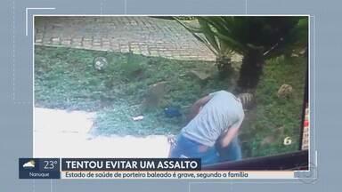 Motorista que morreu após escolar ser atingido por árvore em Belo Horizonte é enterrado - Ranur Pierre da Silva Carneiro, 28 anos, foi atingido na Avenida Nossa Senhora do Carmo, uma das mais movimentadas da Região Centro-Sul.