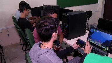 Rovany Araújo bateu um papo com estudantes que entendem bem de tecnologia - Rovany Araújo bateu um papo com estudantes que entendem bem de tecnologia