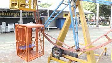 Menino de seis anos, que se machucou em parquinho, recebe alta do hospital - O acidente foi em Maringá.