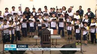 Coral dos Canarinhos de Petrópolis se apresenta em Cariacica, ES - Eles se apresentam às 20h, no santuário Bom Pastor.