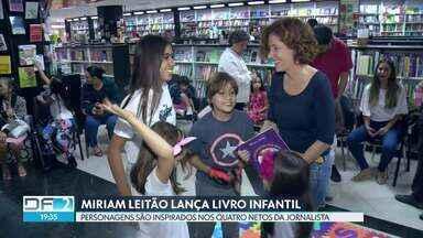 Jornalista Miriam Leitão lança livro infantil com personagens inspirados em seus netos - Jornalista Miriam Leitão lança livro infantil com personagens inspirados em seus netos