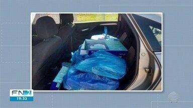 Polícia apreende R$ 15 mil em produtos contrabandeados do Paraguai - Flagrante ocorreu na Rodovia Júlio Budiski, em Presidente Prudente.