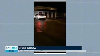 Chuva provoca alagamento em Governador Valadares e provoca queda de barreira na LMG 766 - Apesar dos transtornos, ninguém ficou ferido.