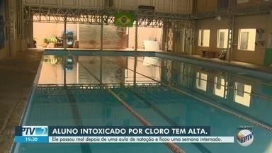 Aluno de academia intoxicado por cloro recebe alta de hospital - Homem de 37 anos e outras 8 pessoas passaram mal após inalarem gás.
