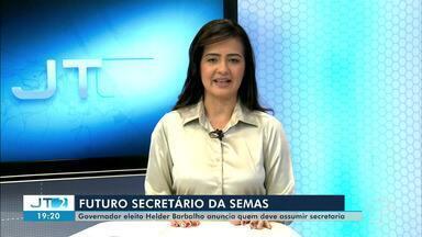 Helder Barbalho anuncia advogado para Secretaria do Meio Ambiente do Pará - Mauro O' de Almeida já chefiou Advocacia-Geral da União e a Consultora Jurídica do Ministério do Meio Ambiente.