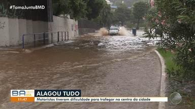 Chuva causa transtornos em diversos bairros de Salvador - Veja os estragos causados pela chuva.