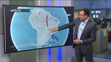Semana quente com a temperatura mais alta do ano em Curitiba - Quinta-feira deve ser o dia mais quente do ano.