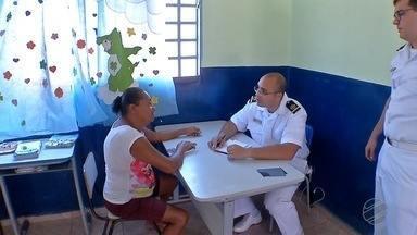 Marinha do Brasil realiza atendimentos médicos aos moradores de Ladário - Em Corumba, ação social aconteceu no Porto Geral da cidade.