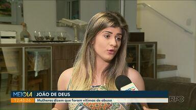 Moradora de Curitiba diz ter sido vítima de abuso do médium João de Deus - A mulher contou a nossa equipe que na época não denunciou por não ter provas.